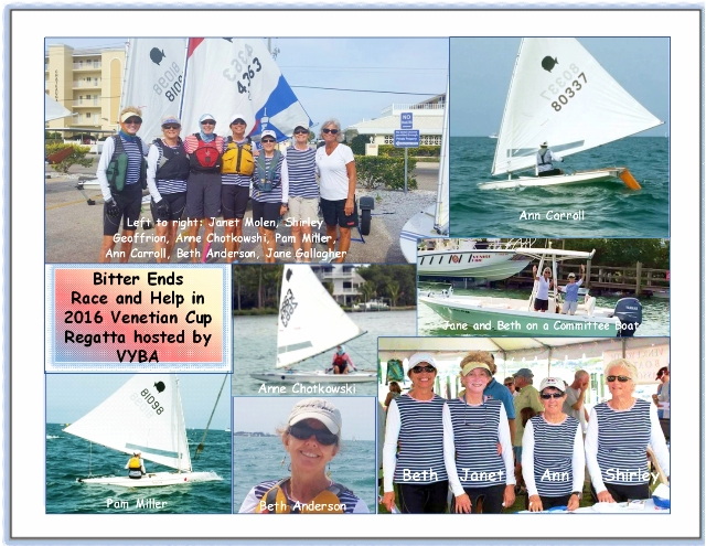 Small Collage of Bitter Ends in VYBA 2016 Venetian Cup Regatta